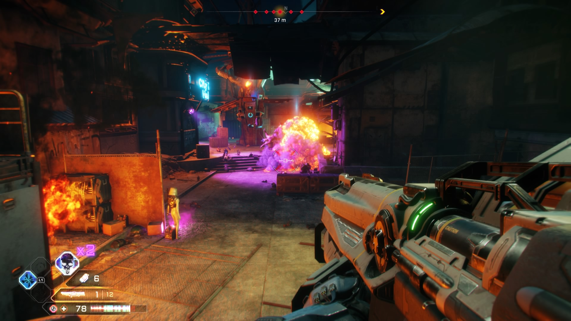Image result for rage 2 smart rocket launcher
