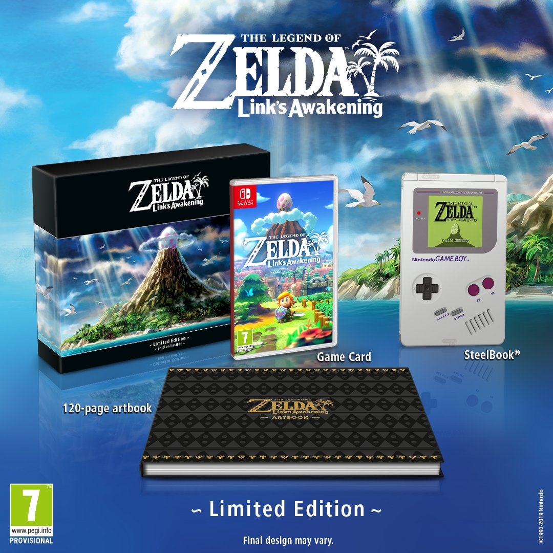 Link S Awakening Remake Gets Limited Edition E3 2019