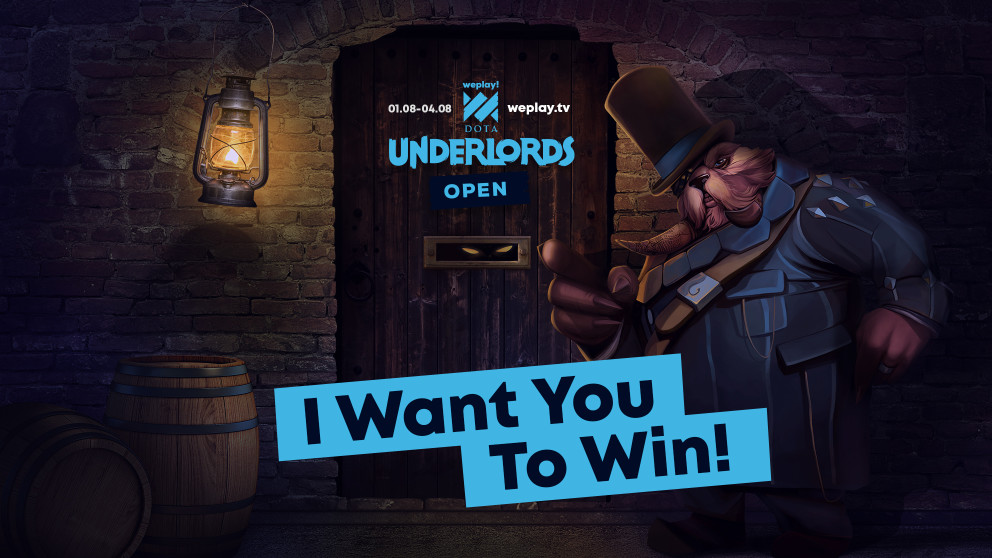 The WePlay! Dota Underlords Open is here!