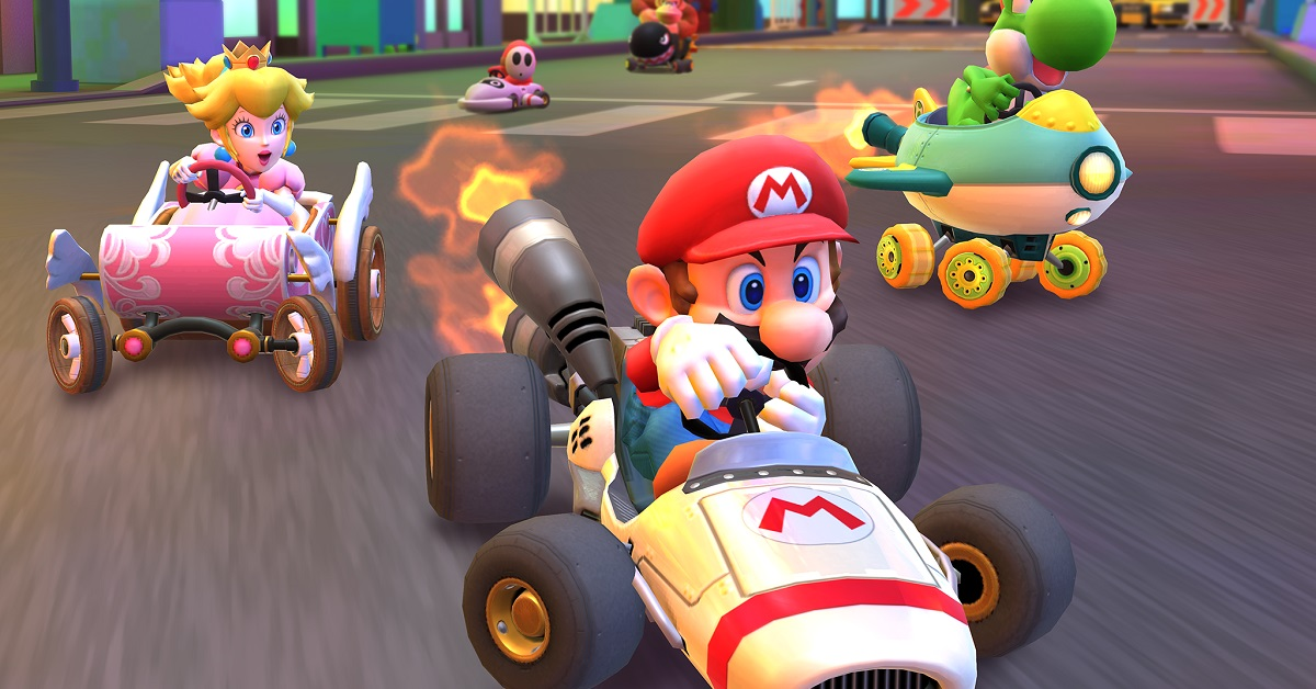 Mario Kart Tour How To Land Three Hits With The Super Horn
