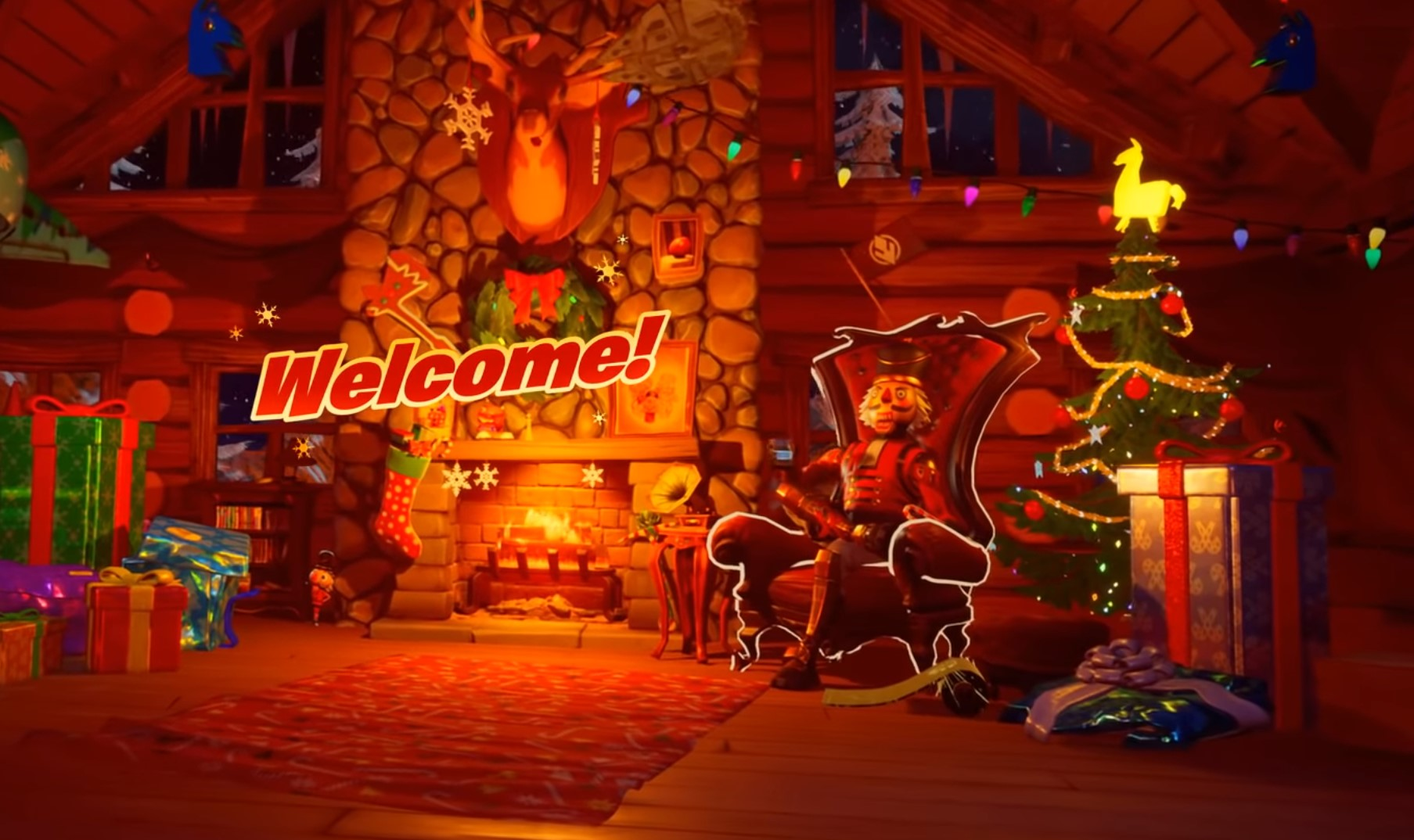 How to Get The Christmas Tree Skin in Fortnite