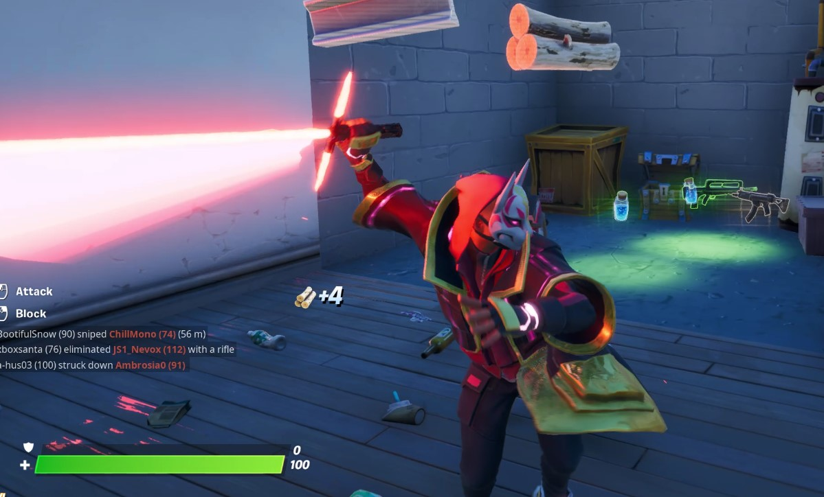 Where To Find Star Wars Lightsabers In Fortnite