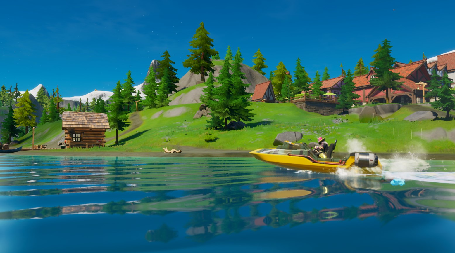 Where To Complete A Motorboat Time Trial In Fortnite Chapter 2