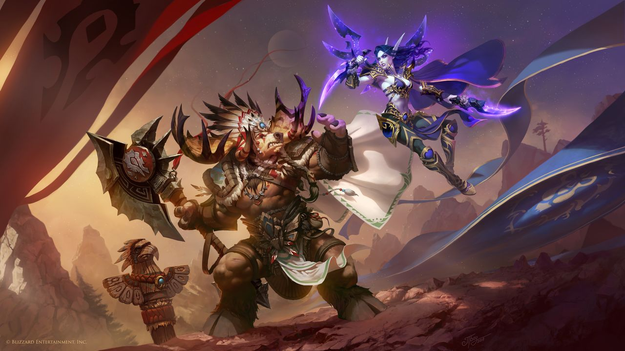 World Of Warcraft Wallpaper Bfa: How To Unlock All Horde Allied Races In WoW: Battle For