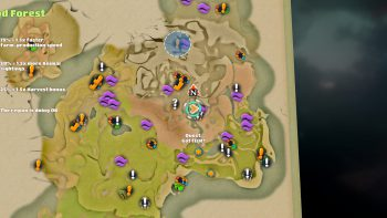Yonder: The Cloud Catcher Chronicles - Sprite Locations