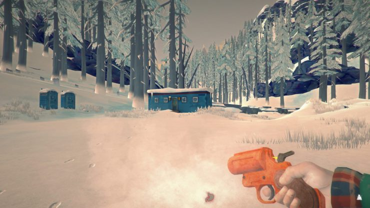 The Long Dark - How to Unlock the Logging Camp Trailer