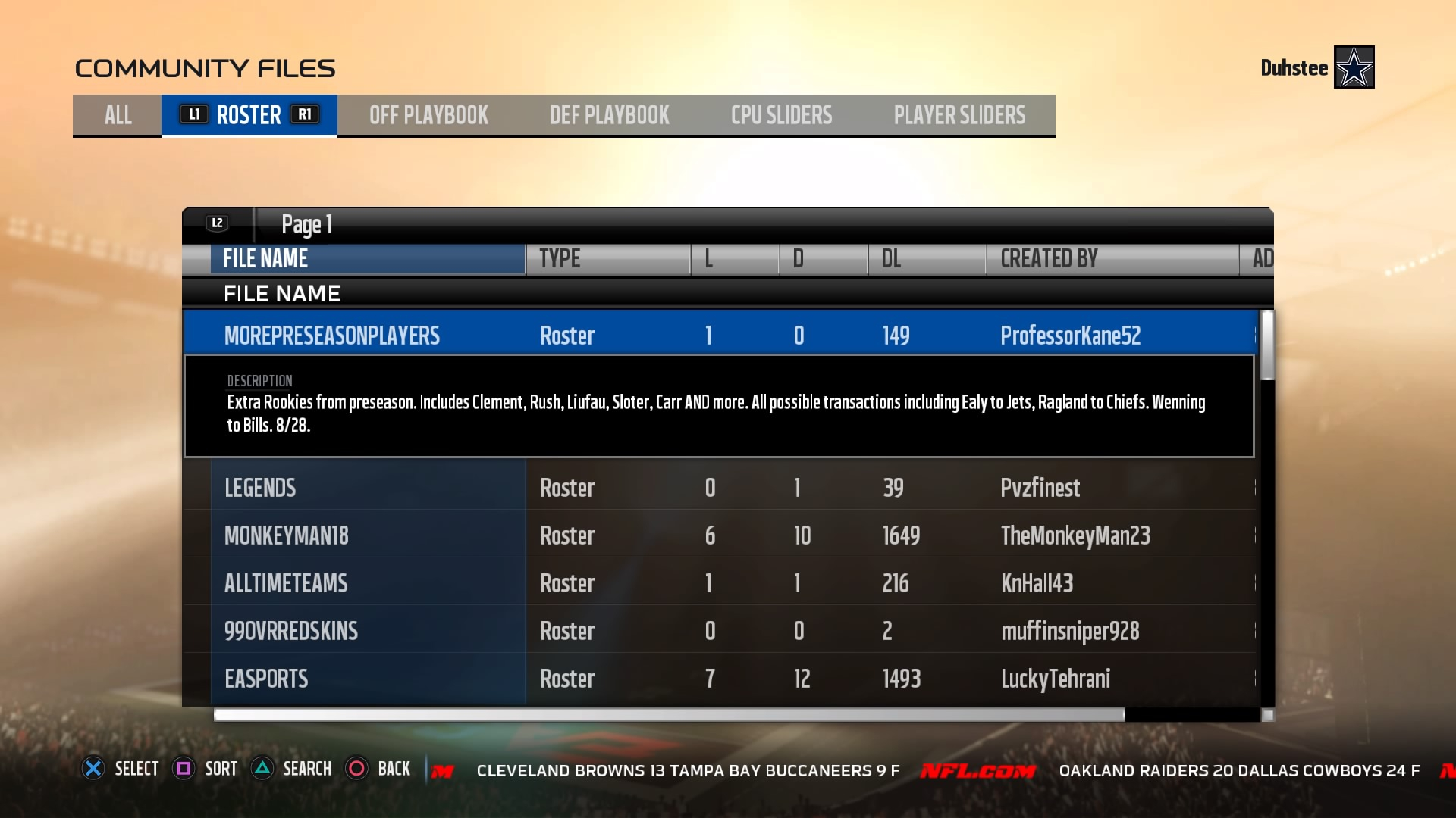 Madden NFL 18 - How to Do Roster Updates