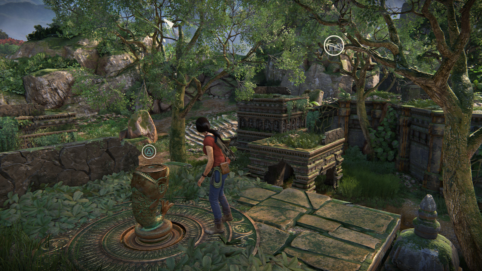 Uncharted The Lost Legacy All Hoysala Tokens Queens Ruby Tl Ps4uncharted Reg 3