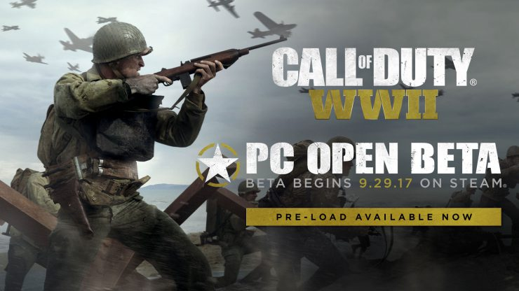 Call of Duty WWII Multiplayer PC Open Beta