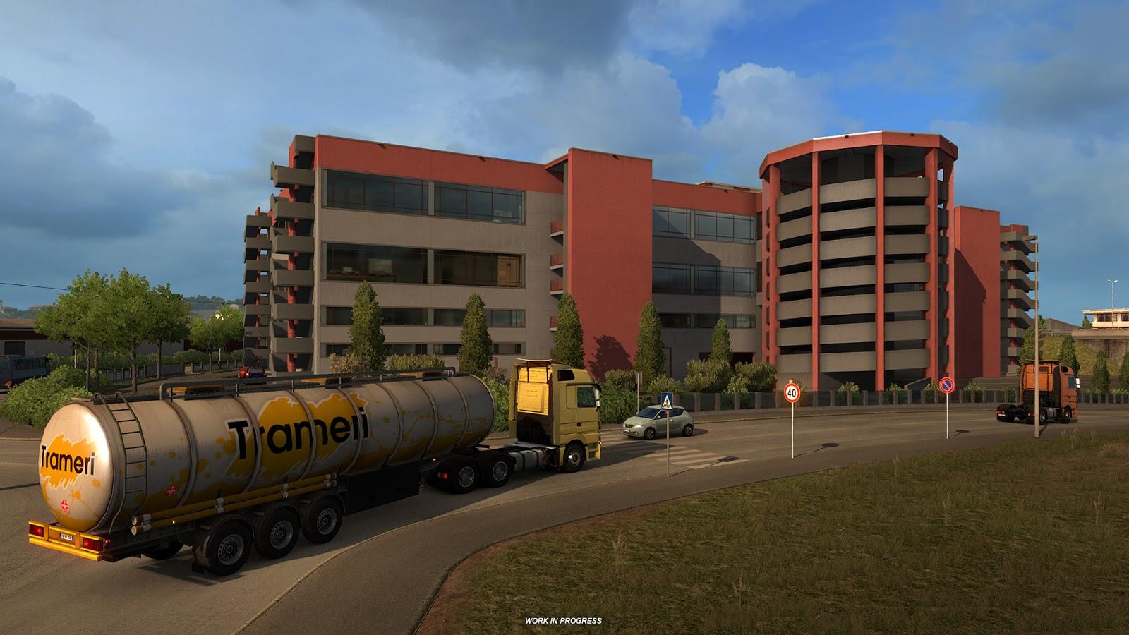 A Look at Architecture in Euro Truck Simulator's Bella