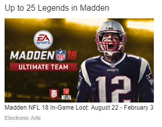 How to Earn Twitch Prime Legends For MUT