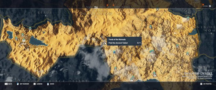 Assassin's Creed: Origins - Find Silica in All Tomb Locations