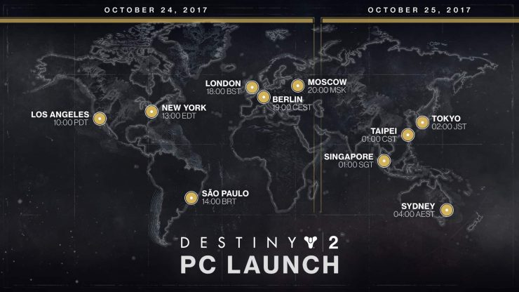 You Can Preload Destiny 2 on PC Right Now