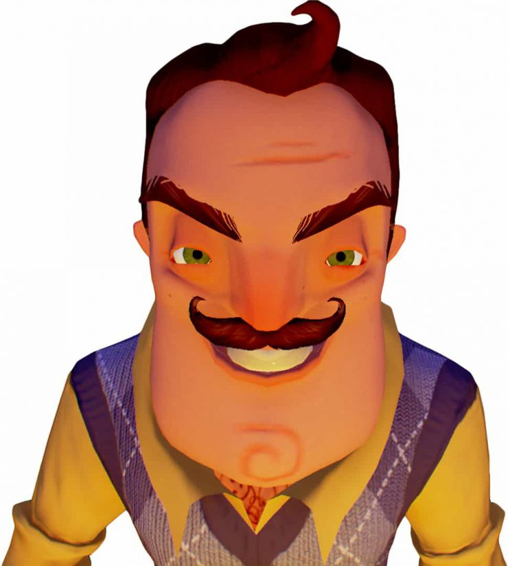 Hello Neighbor Retail Shelves