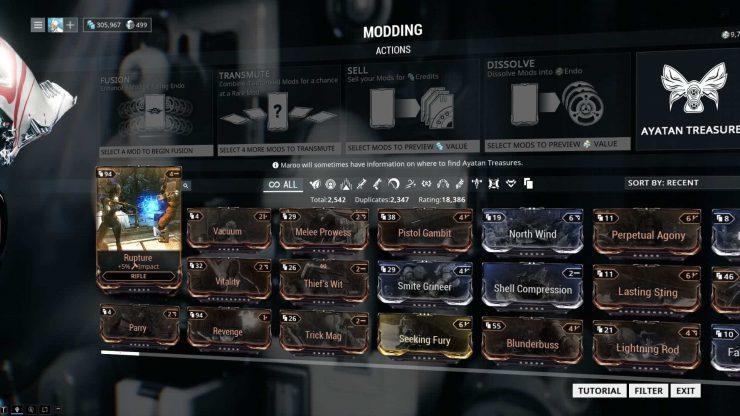 Warframe - Beginners Mods Guide