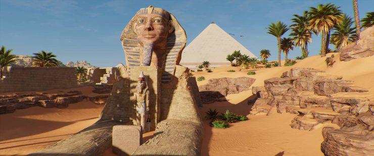 Assassin's Creed: Origins - Legendary ISU Armor in Secret Sphinx Tomb