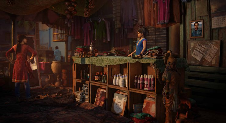 Uncharted: The Lost Legacy Screenshot from the Prologue