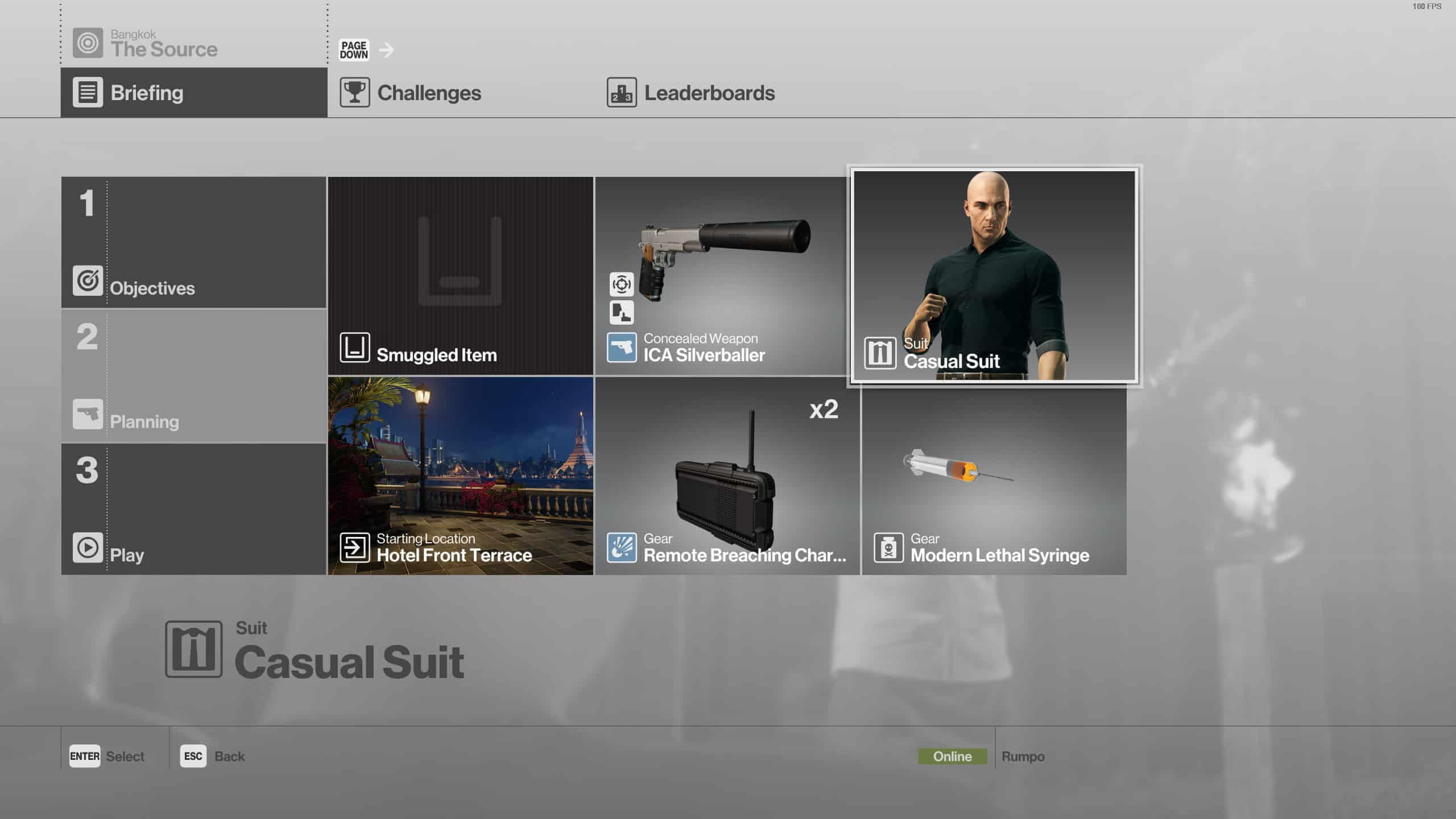 Hitman The Source Silent Assassin Suit Only Gamepur