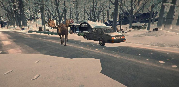 The Long Dark Moose Animal