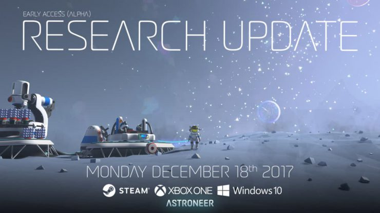 Astroneer Revamps Research in Latest Update