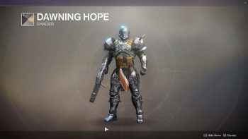 Destiny 2 - All Dawning Armor and Gear