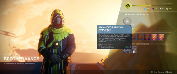 Destiny 2 - How To Get Advanced Paradox Amplifier