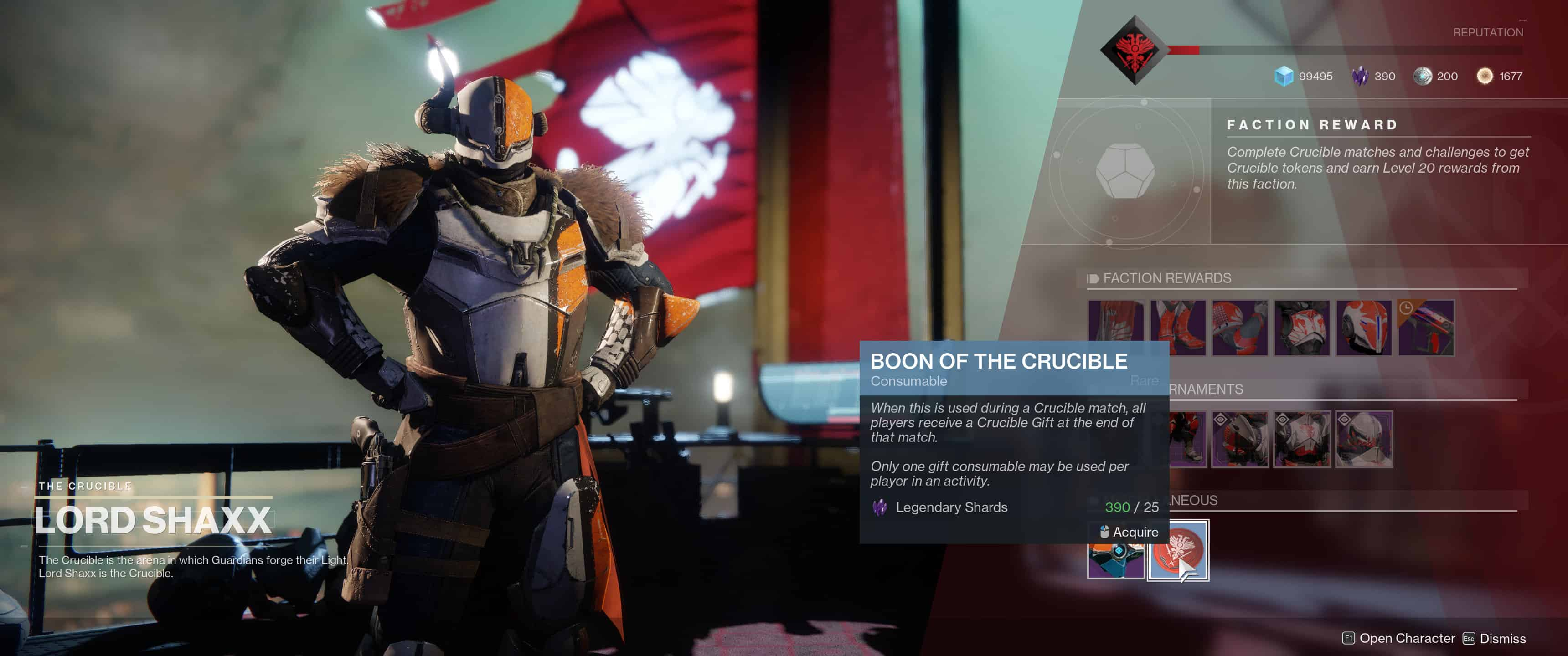 Destiny 2 - What are Vanguard and Crucible Boons?