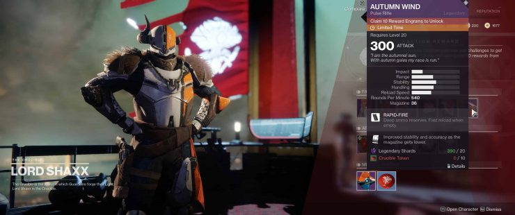 Destiny 2 - How to Buy Faction Armor and Weapons