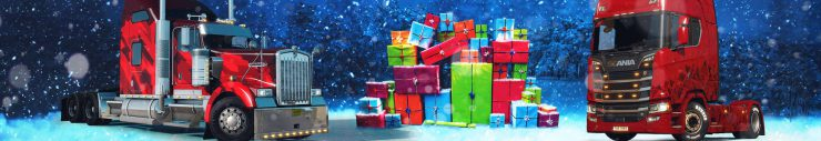 World of Trucks Grand Gift Delivery Holiday Event