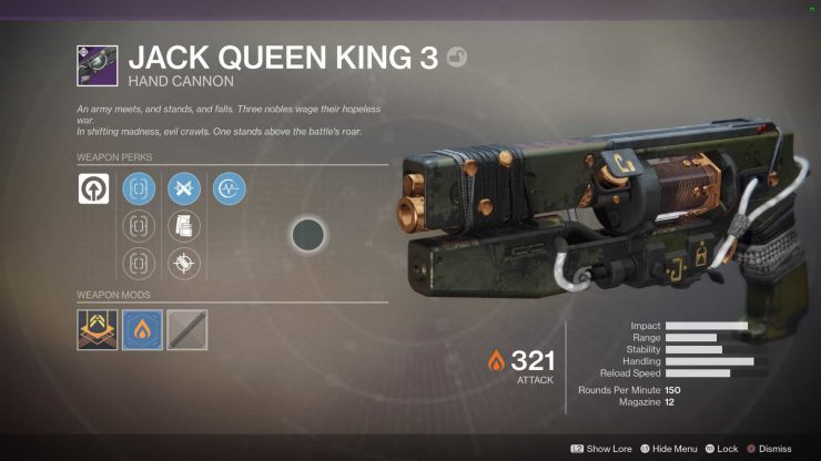 Destiny 2 - Lost Prophecy, Verse 3 - Jack Queen King 3
