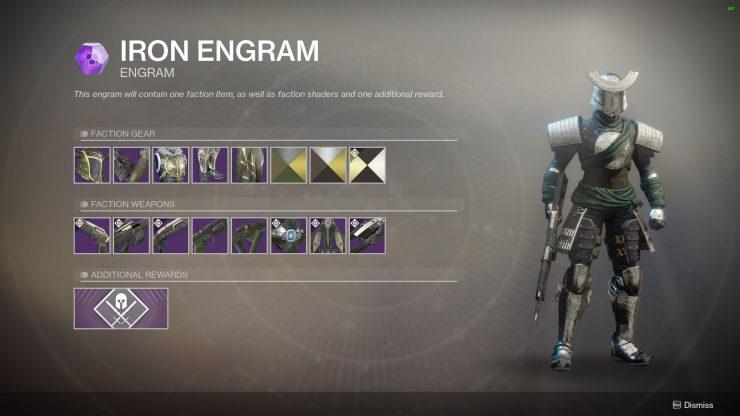 Destiny 2 - Season 2 Iron Banner Ornament Requirements