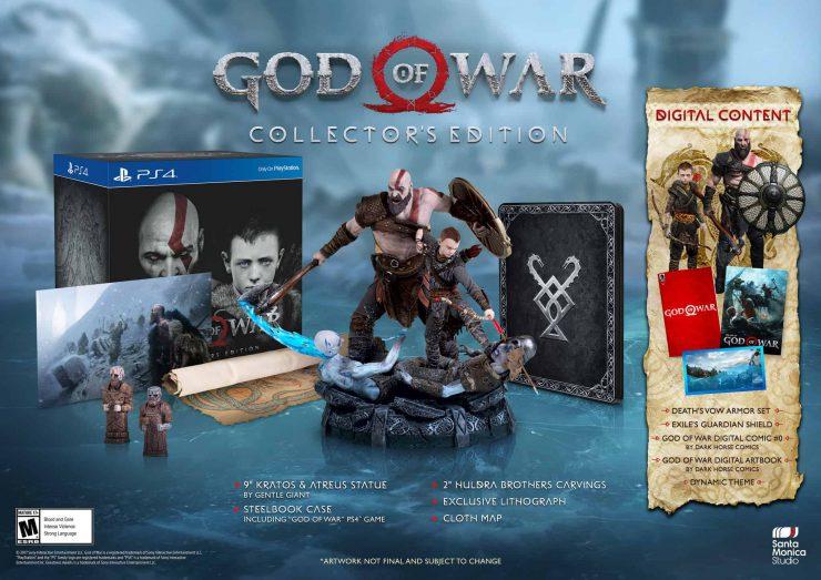 God of War Arrives on PS4 on April 20, 2018