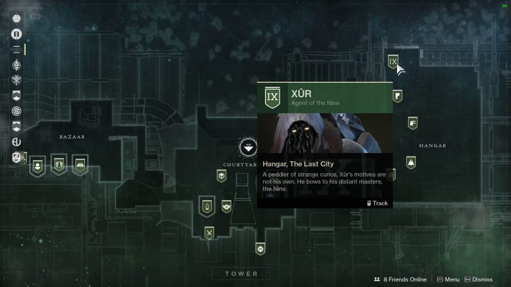 Destiny 2 - Where Is Xur for January 19, 2018?