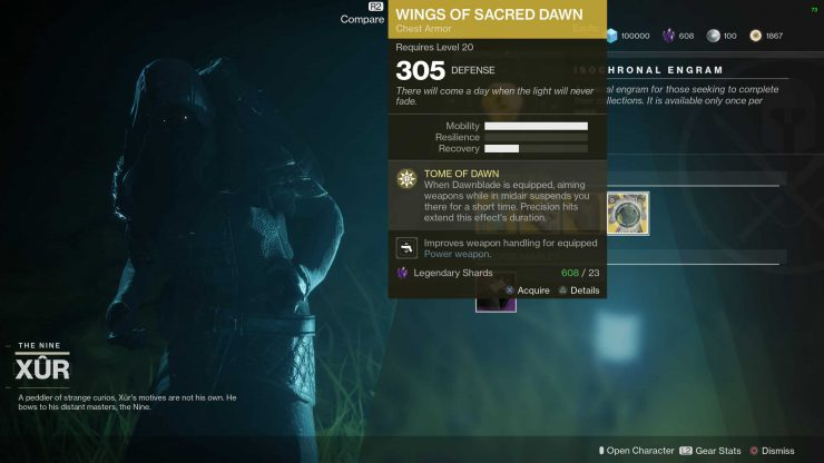 Destiny 2 - Where is Xur for January 5, 2018?
