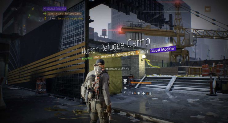 The Division - What are Global Events?