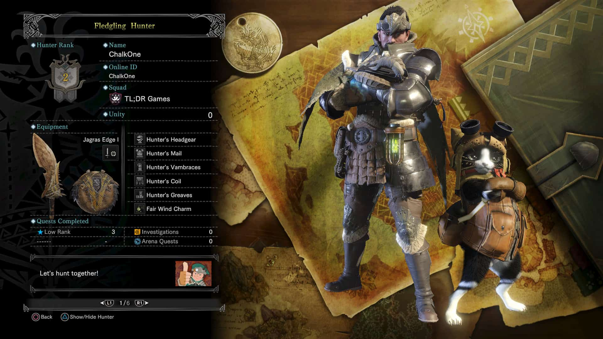 Monster hunter world how to create or join squads tl for Decoration list monster hunter world