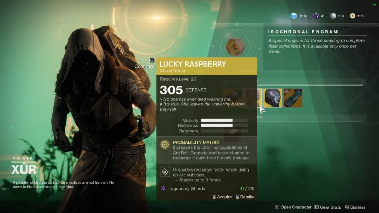 Destiny 2 - Where Is Xur for February 2, 2018?