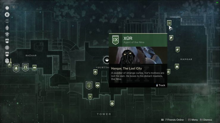 Xur In The Tower