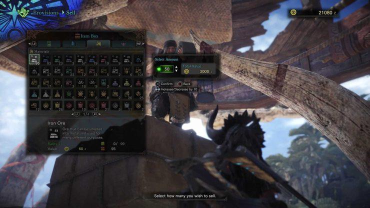 How to Make More Money in Monster Hunter: World