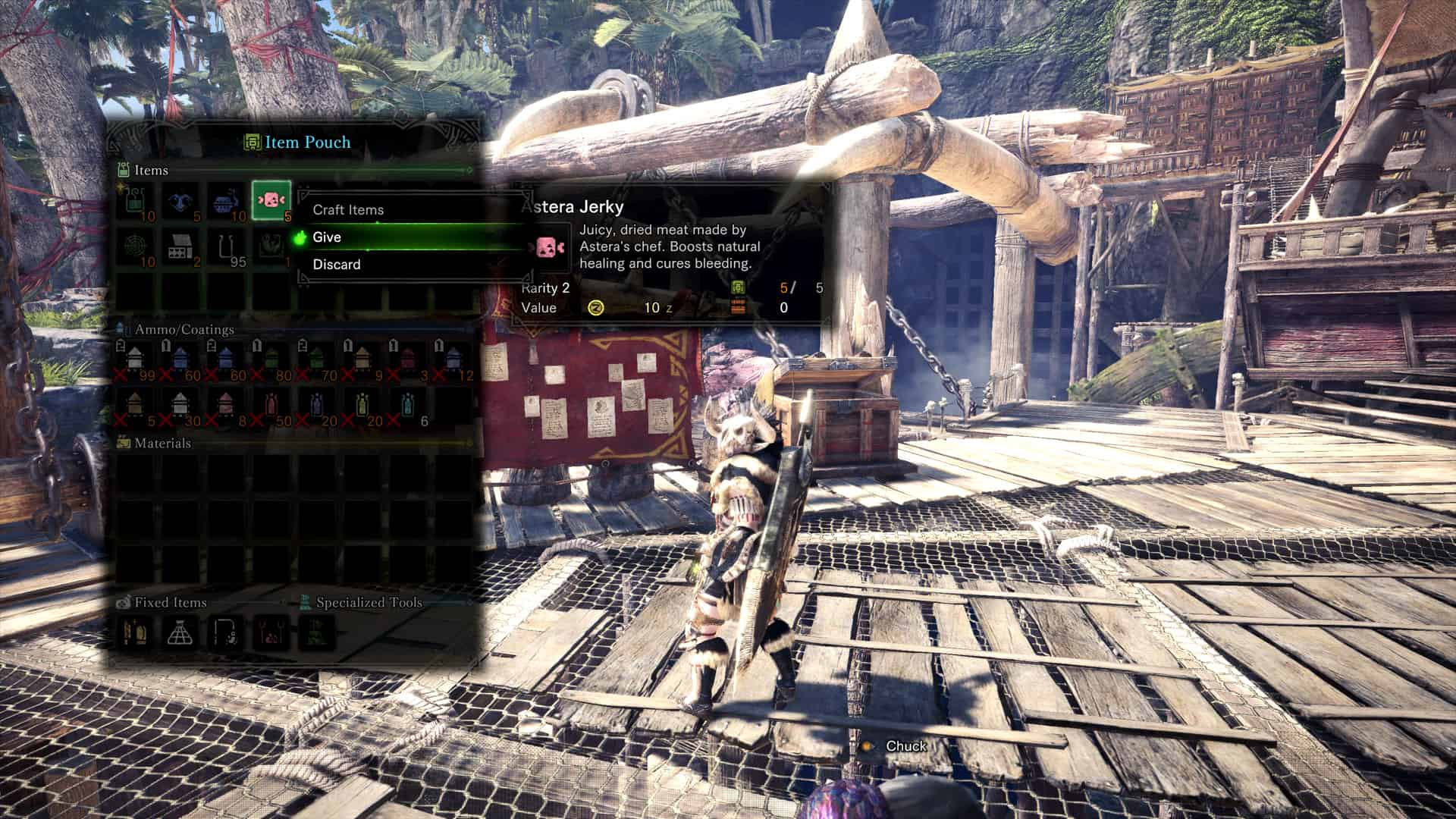 Monster Hunter: World - How to Give Items to Players