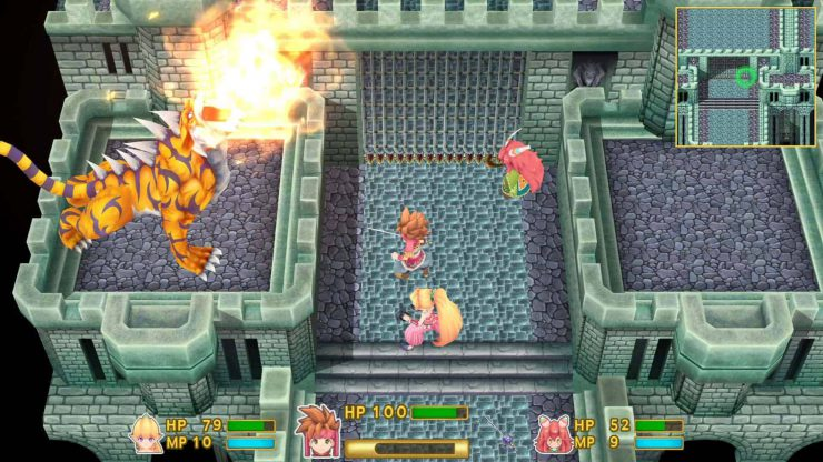 Secret of Mana Out Today