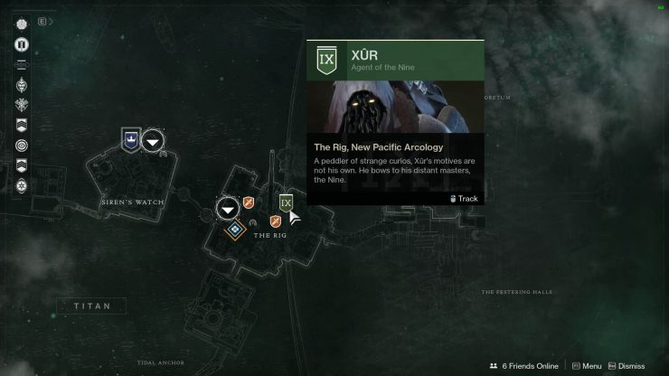 Titan Map