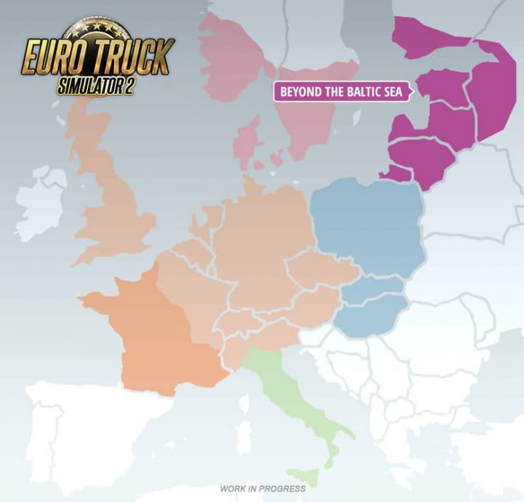 Euro Truck Simulator 2 Heads Beyond the Baltic Sea in Upcoming DLC