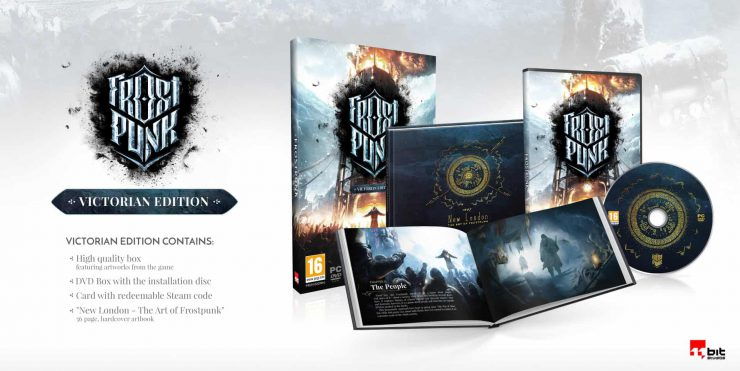 Bring a Warm Coat for Frostpunk's Release on April 24th