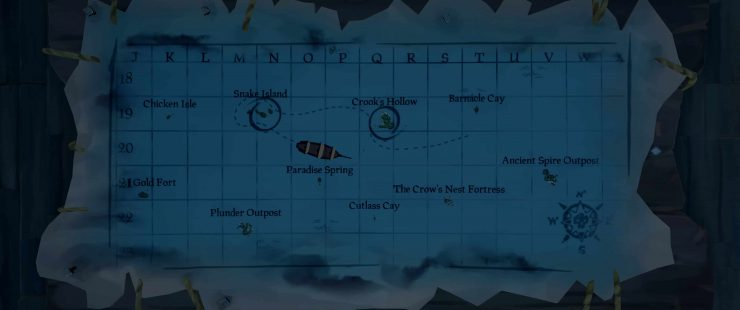 A Wealth Raided by the Lowly So Mean Guidot - Sea of Thieves Riddle