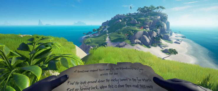 Grave Robber on Wanderer's Refuge - Sea Of Thieves Riddle