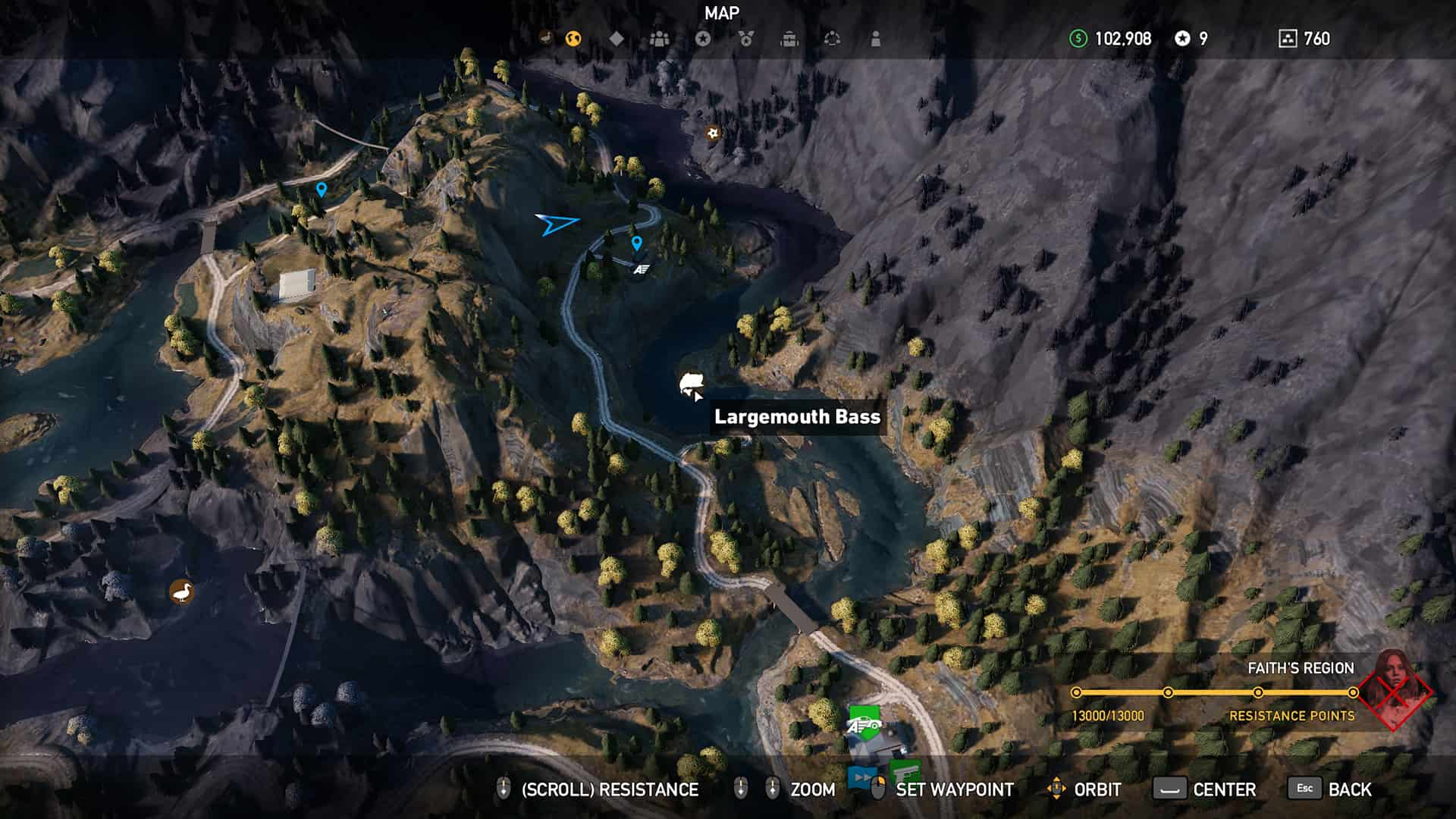 where to find largemouth bass in far cry 5 tl dr games