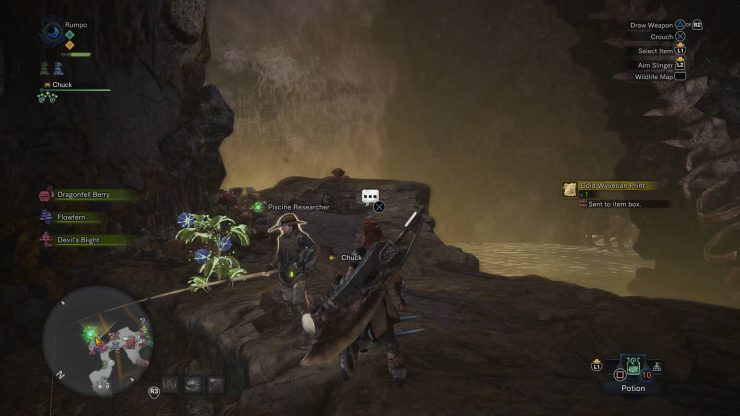 How to Get Gold Wyverian Print in Monster Hunter: World