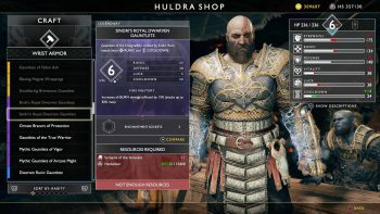 How to Get the Legendary Royal Dwarven Armor in God of War