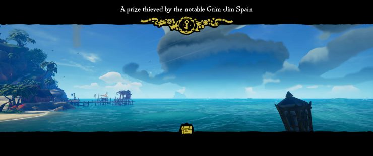 A Prize Thieved by the Notable Grim Jim Spain - Sea of Thieves Riddle